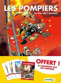 Les pompiers : pack tome 3 + calendrier