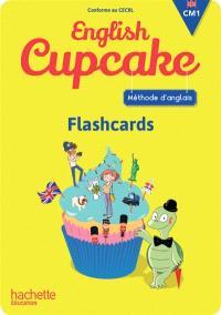 English cupcake, CM1 : flashcards : méthode d'anglais, conforme au CECRL