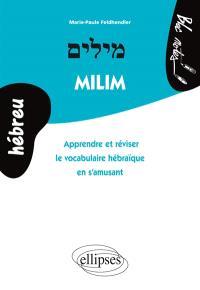 Milim : apprendre et réviser le vocabulaire hébraïque en s'amusant