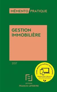 Gestion immobilière 2017