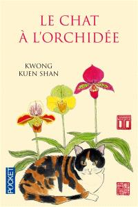 Le chat à l'orchidée