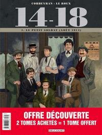 14-18 : pack 30 ans tomes 1 à 3