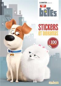 Comme des bêtes : stickers et dioramas
