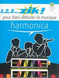Harmonica : pour bien débuter la musique