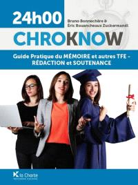 Guide pratique du mémoire et autres TFE : rédaction et soutenance