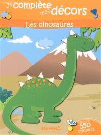 Les dinosaures : je complète mes décors