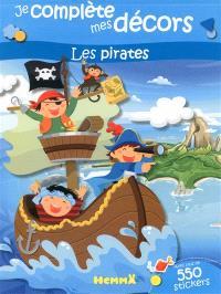 Les pirates : je complète mes décors