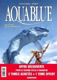 Aquablue : pack 30 ans tomes 12 à 14