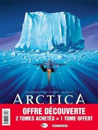 Arctica : pack 30 ans tomes 1 à 3