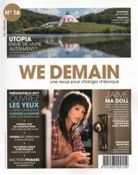 We demain : une  revue pour changer d'époque. n° 16