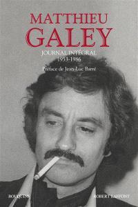 Journal intégral : 1953-1986
