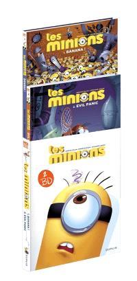 Fourreau Les Minions : T. 1 + T.  2