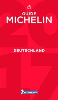 Deutschland : guide Michelin 2017