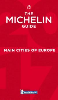 Main cities of Europe 2017 : restaurants & hotels