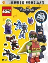 Lego, the Batman movie : l'album des autocollants