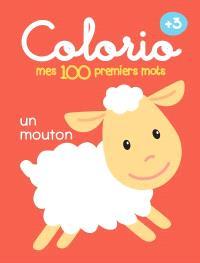 Mes 100 premiers mots +3 : un mouton