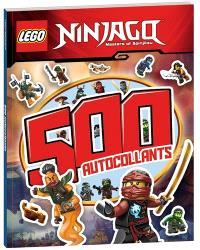 Lego Ninjago, masters of Spinjitzu : 500 autocollants