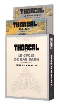 Fourreau Thorgal : le cycle de Bag Dadh : T. 34 + T. 35