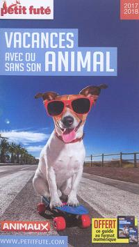 Vacances avec ou sans son animal : 2017-2018