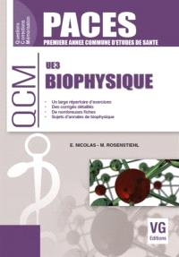 Biophysique UE3