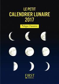 Le petit calendrier lunaire 2017