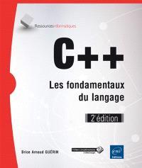 C++ : les fondamentaux du langage