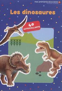 Les dinosaures : 40 autocollants