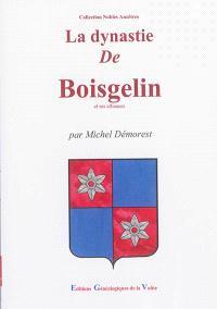 La dynastie de Boisgelin et ses alliances