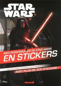 Star Wars : mes personnages de Star Wars en stickers