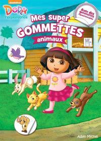 Dora l'exploratrice : mes super gommettes animaux