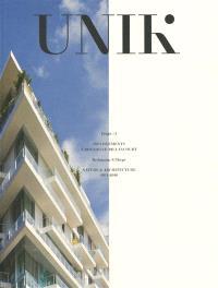 UNIK : 159 logements à Boulogne-Billancourt : maître d'ouvrage Nexity, architectes du projet Beckmann et N'Thepé
