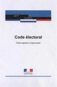 Code électoral : parties législative et réglementaire