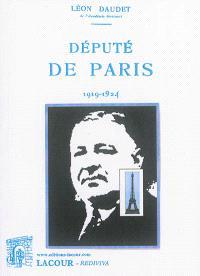 Député de Paris : 1919-1924