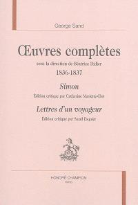 Oeuvres complètes, 1836-1837