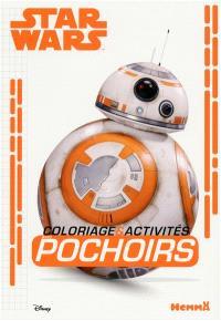 Star Wars coloriage & activités : avec pochoirs : BB-8