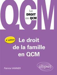 Le droit de la famille en QCM