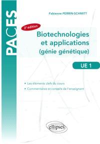 Biotechnologies et applications : génomique, transcriptome, méthylome, protéome, transgenèse animale : UE 1