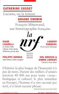 Nouvelle revue française. n° 622