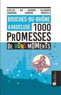 Bouches-du-Rhône & Vaucluse : 1.000 promesses de bons moments : Alpilles, Aix, Avignon, Calanques, Camargue, Lubéron, Marseille