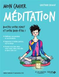 Mon cahier méditation : boostez votre esprit et votre bien-être !