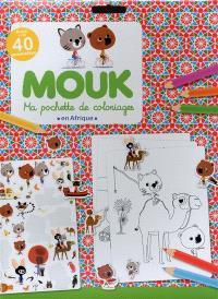 Mouk en Afrique : ma pochette de coloriages