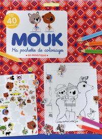 Mouk en Amérique : ma pochette de coloriages
