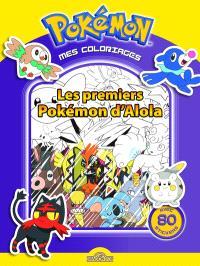 Pokémon, mes coloriages : les premiers Pokémons d'Alola