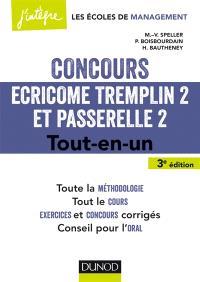 Concours Ecricome Tremplin 2 et Passerelle 2 : tout-en-un