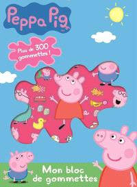 Peppa Pig : mon bloc de gommettes