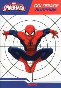 Ultimate Spider-Man : coloriage surprise