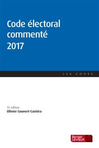 Code électoral commenté 2017