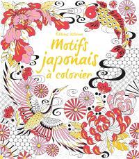 Motifs japonais à colorier