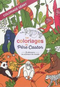 Coloriage Geant Animaux.Librairie Mollat Bordeaux Je Decouvre Les Animaux Du Monde