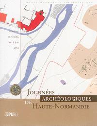 Journées archéologiques de Haute-Normandie : Conches-en-Ouche, 5 et 6 juin 2015